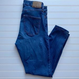 Calvin Klein High Rise Ankle Skinny Jeans Size 8
